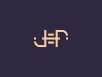 Jef ambigram logo