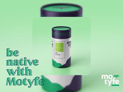 motyfe // packaging