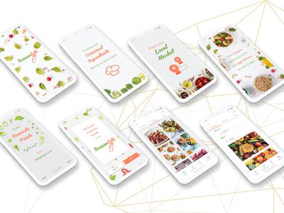 UI Mobile Application Design icon vector ui design ui design
