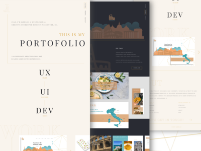 Portfolio Light and Dark Mode Design and Development