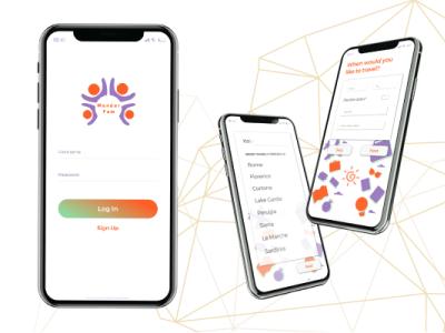 WanderFam Mobile App Design
