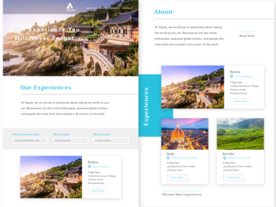 Travel Web App Design & Development
