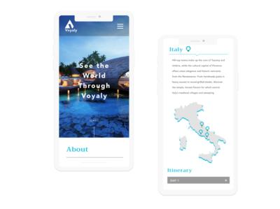 Mobile web app design & development