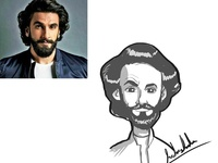 Ranveer Singh's cartoon