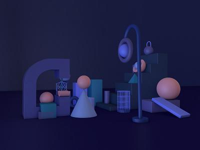 Playing With 3D Abstract Shape in Cinema 4D website app icon animation 3d ideas 3d concept 3d website 3d app vector illustration ux ui 3d illustrations 3d geometric shape cinema 4d abstract shape 3d design 3d art design