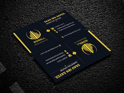 Business Card (Practice 1) logo card design busines card business