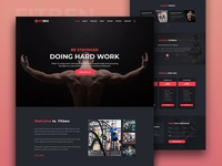 Gym & Fitness Template