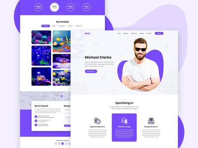 Portfolio Web Visual Exploration