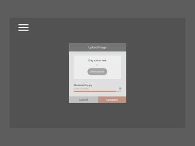 Daily UI 31 – File Upload