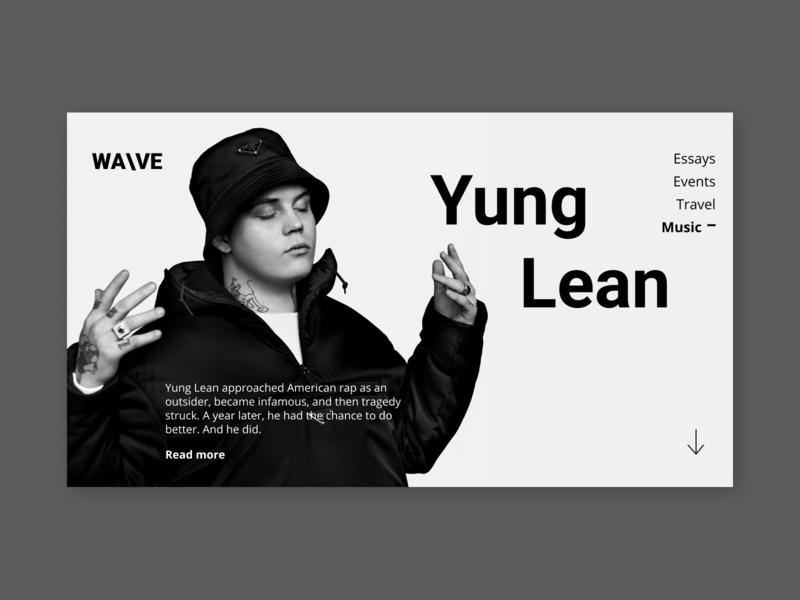 WA\VE - Yung Lean