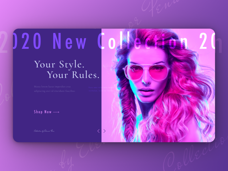 Landing Page for fashoin clothes boutique clothing fashion design website design website landing design ui design ux ui web design web webdesign landing page design landing page landingpagedesign