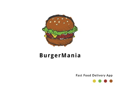 Burger Mania Logo