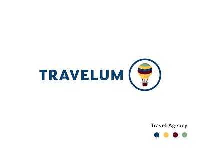 Travelum Logo travel agency logo travel agency travel logotype design logotype branding design logo design logo branding design