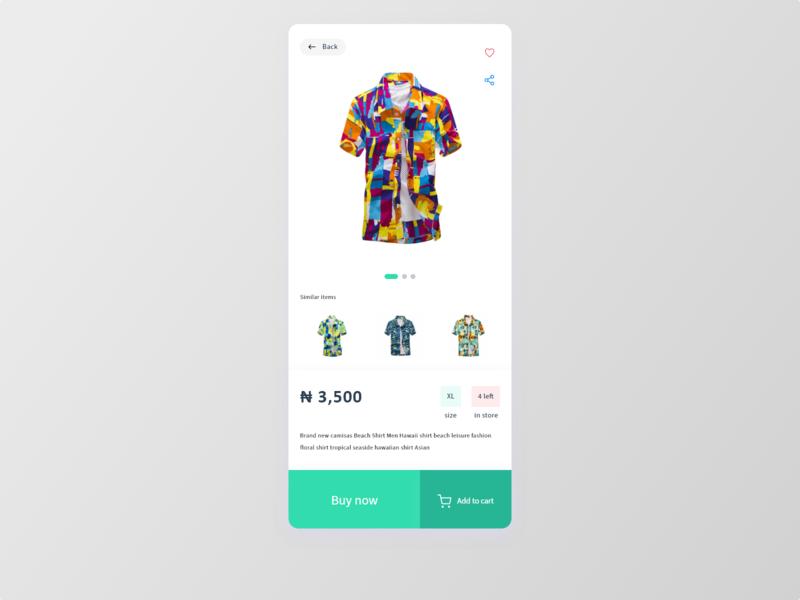 E commerce single item   012