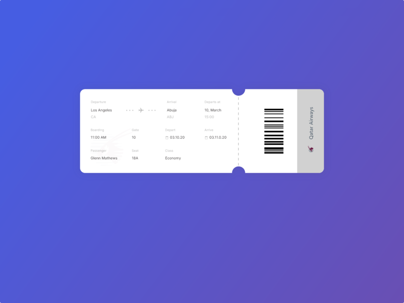 plane receipt  017