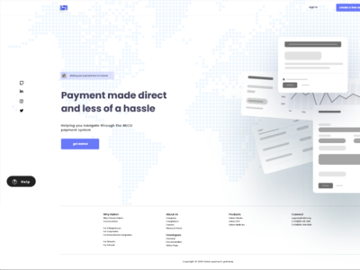payment landing page small