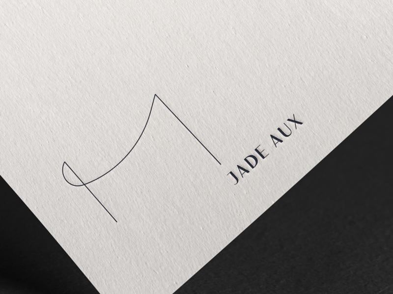 Jade Aux Brand Identity: Logo mockups mockup psd mockup photoshop branding design logo graphic  design