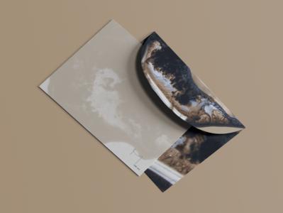 Jade Aux Brand Identity: Envelope Design