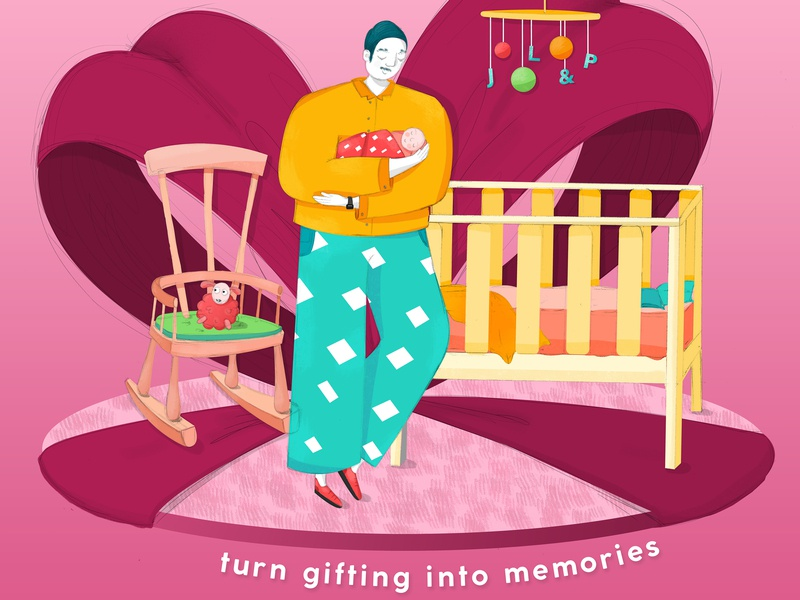 John Lewis & Partners: Thoughtful Gifting gifting drawing campaign design campaign story telling new blood digital art dandad advertising graphic  design graphic artist design photoshop illustrator illustration