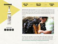 Wordpress Liquor Product Page
