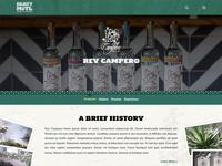 Liquor Brand Wordpress Landing Page