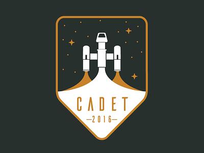 Mesosphere 2016 Intern Tee merch illustration badge space shirt intern mesosphere