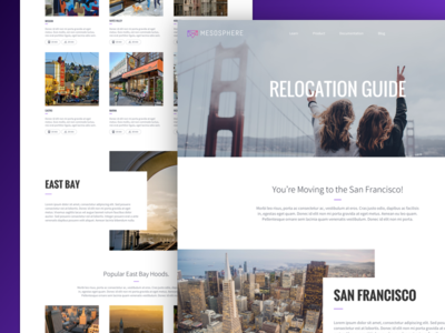 Mesosphere Relocation Guide for the Bay Area guide website web travel sf san francisco landing site mesosphere