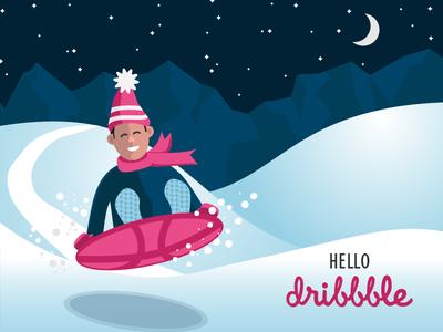 Hellodribble 2018 character illustration 2018 debut
