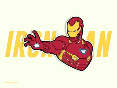 Iron Man Vector Illustration