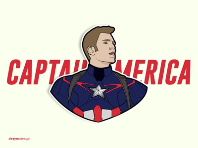 Captain America Vector Design