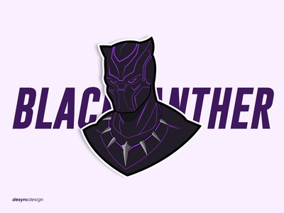 Black Panther Vector Design