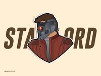 Star-Lord Vector Design