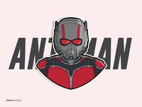 Ant-Man Vector Design