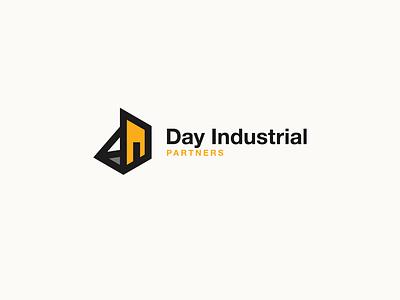 Day Industrial Parnters Logo vector design development branding logo construction