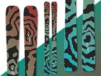 3 Sisters - Custom Skis