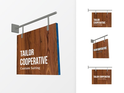 Tailor Cooperative - Sign Concepts