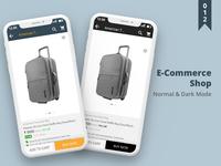 E-Commerce Shop UI Design
