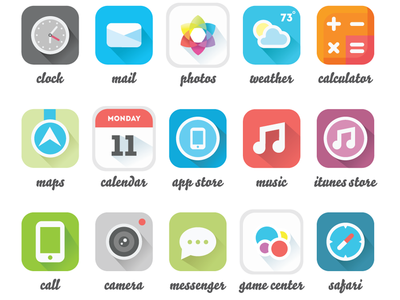More iPhone Icons