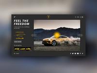 Lamborghini URUS Page Concept