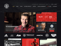 Manchester United Homepage Rethink