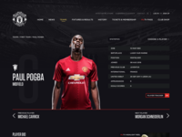 Manchester United Player Profiles Rethink