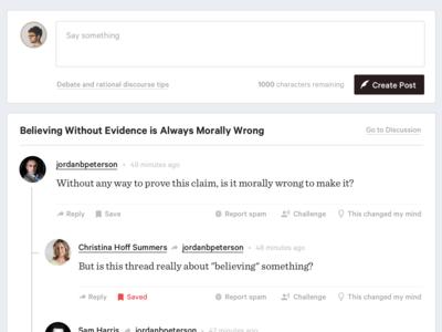 Idea Discussion Platform