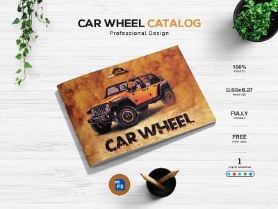 Car Wheel Catalog Design photography uiux artist mockup catalog design car wheel car website web photoshop brand identity graphic design illustration brochure design branding design print design logo app branding