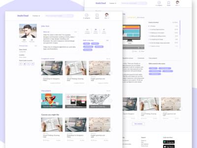 Educational web-site concept