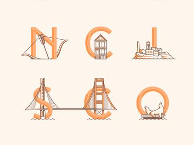 San Francisco Landmarks 2