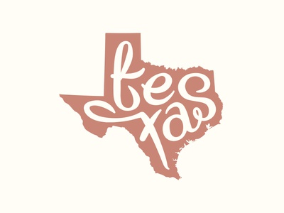 Lone Star lettering