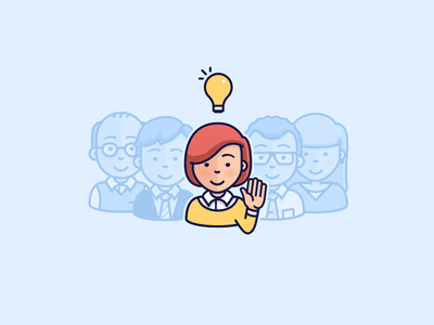 Ask a tutor education solution tutor teacher illustration