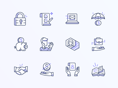 Feature icons guideline illustration icons icon