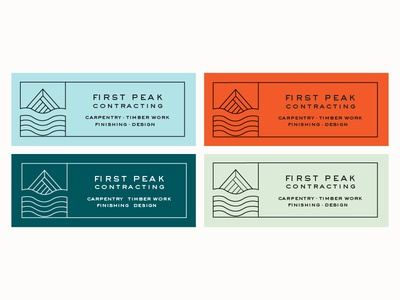 FPC Badges badges color palette graphic  design design typography