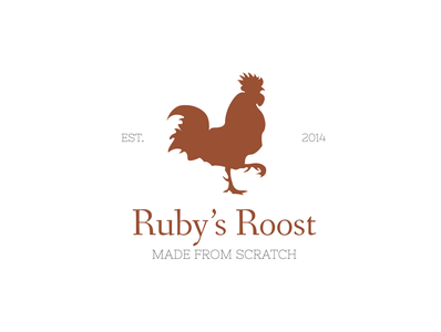 Ruby's Roost Logo Concept